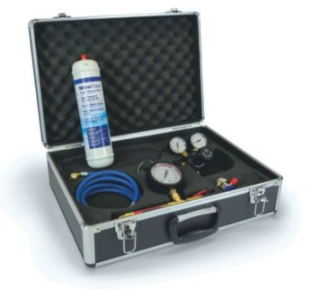Air-con Gauge Set with NitroTrace & Case