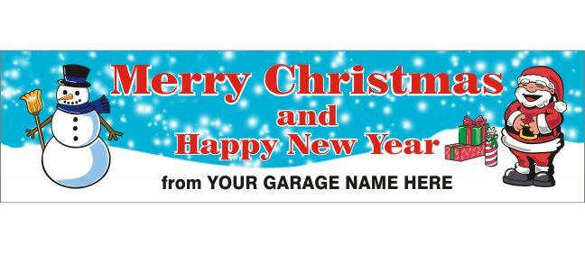 Christmas Banner – Design Z