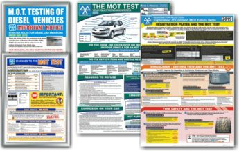 MOT Poster 4 PACK – (DTI + MTC + MCI + CFI)