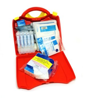 First Aid Kit for Burns including H-F Gel