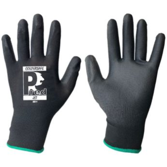 PREMIUM Manual Handling Workshop Gloves – Black PU