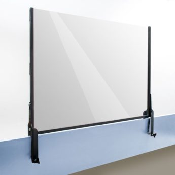 Desk Partition Extender Screens with Clamps