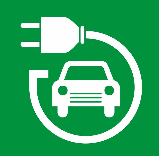 Electric & Hybrid Vehicle Safety Signs