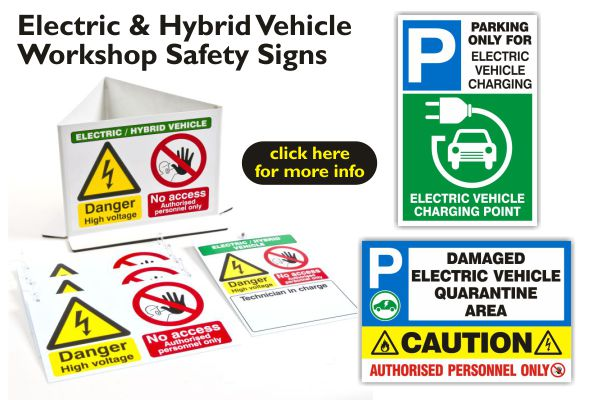 electric-&-hybrid-vehicle-workshop-safety-signs