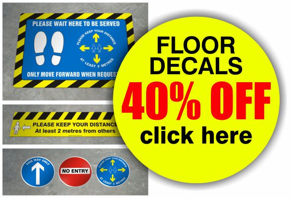 floor decals 40 off
